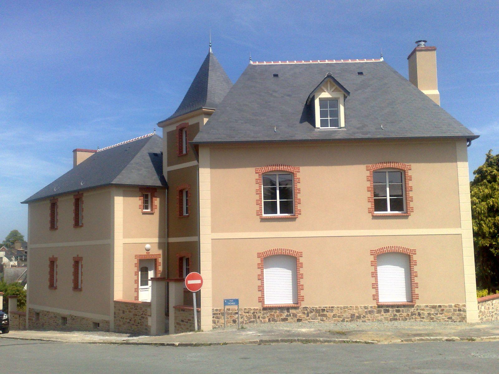 Restauration Maison Ancienne Bretagne Asnieres Sur Seine